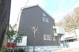 大阪府箕面市箕面2の賃貸アパートの外観