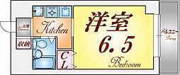 シティハイツ須磨[2階]の間取り