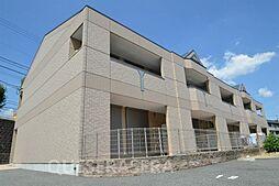 大阪府箕面市外院2丁目の賃貸アパートの外観