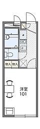 三ッ沢アーバニティー[1階]の間取り