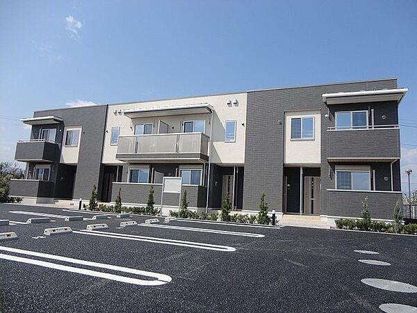 山梨県南アルプス市下今諏訪の賃貸アパートの画像