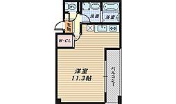 フロールマリポッサ[2階]の間取り