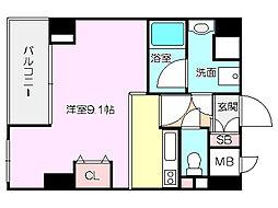 D−Room城東[1階]の間取り