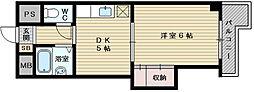 上新庄グランドハイツ北[2階]の間取り