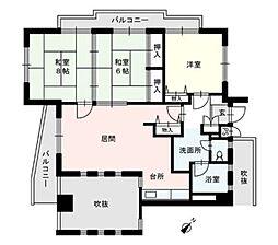 第2テングビル[2階]の間取り