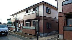 栃木県小山市西城南4丁目の賃貸アパートの外観