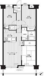 グランドパレス37[2階]の間取り