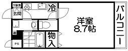 タートル・ネージュ[3階]の間取り