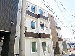 東京都江戸川区北小岩3の賃貸アパートの外観