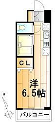 ダジュール[7階]の間取り