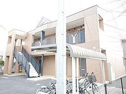 神奈川県伊勢原市沼目2丁目の賃貸アパートの外観