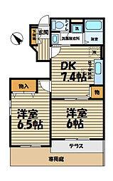 エミネンス湘南VII[1階]の間取り