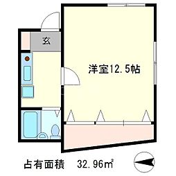 サイド木山[2階]の間取り