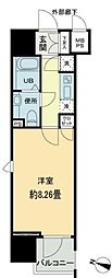 東京都千代田区九段北1丁目の賃貸マンションの間取り