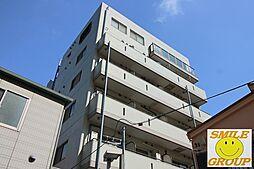 千葉県船橋市本町4の賃貸マンションの外観