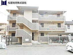 愛知県豊橋市西小鷹野4丁目の賃貸マンションの外観