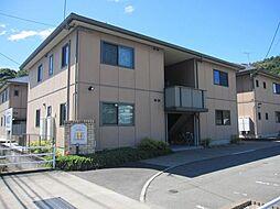 福岡県糟屋郡宇美町大字井野の賃貸アパートの外観