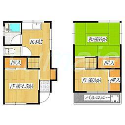 [一戸建] 東京都北区志茂5丁目 の賃貸【/】の間取り