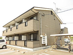 岡山県倉敷市中畝3の賃貸アパートの外観