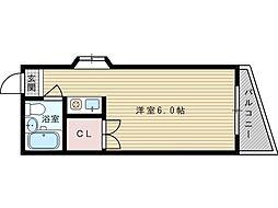 仙田ハイツ[2階]の間取り