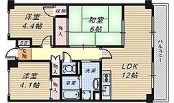 グランド・ハウス・プラム[2階]の間取り