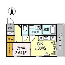 [一戸建] 埼玉県川越市通町 の賃貸【/】の間取り