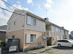 神奈川県相模原市緑区大島の賃貸アパートの外観