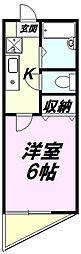 東京都八王子市台町3丁目の賃貸マンションの間取り