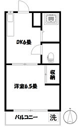 第11島田マンション[2階]の間取り