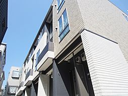 東京都豊島区駒込4丁目の賃貸アパートの外観