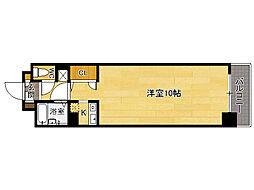 レオンド浄水南[3階]の間取り