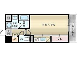 プレッツァ新大阪[8階]の間取り