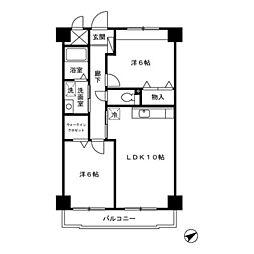 NTマンション[4階]の間取り