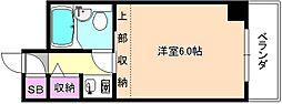 Mプラザ津田駅前壱番館[3階]の間取り