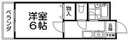 エリトール津田[2階]の間取り