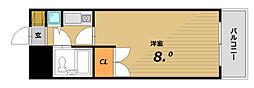 ステーションプラザ神戸西[5階]の間取り