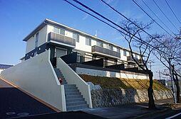 栃木県真岡市大谷台町の賃貸アパートの外観
