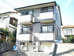 愛知県名古屋市名東区社が丘2丁目の賃貸アパートの外観