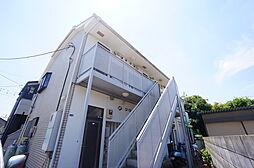 埼玉県志木市幸町2丁目の賃貸アパートの外観