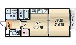 サニーコート[1階]の間取り