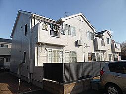 東京都東村山市廻田町2丁目の賃貸アパートの外観