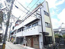 大阪府豊中市岡上の町3丁目の賃貸マンションの外観