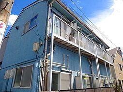 神奈川県横浜市港北区日吉1丁目の賃貸アパートの外観
