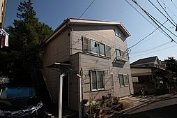 東京都稲城市押立の賃貸アパートの外観
