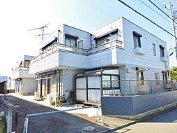 神奈川県大和市草柳2丁目の賃貸アパートの外観