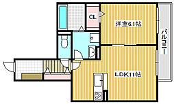 仮称 横堤4丁目新築マンション[302号室]の間取り