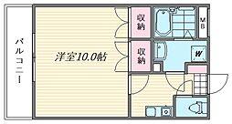 プログレス松島VI[210号室]の間取り