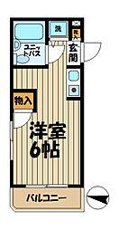 TOP大船NO1[404号室]の間取り