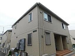 東京都板橋区赤塚1丁目の賃貸アパートの外観