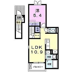 ライグッドIII[2階]の間取り